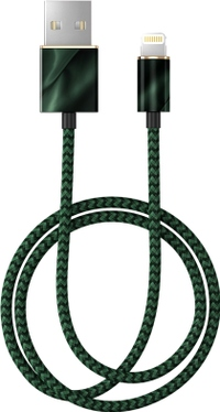 IDEAL OF SWEDEN FASHION CABLE EMERALD SATIN (1M)