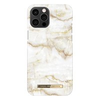 iDeal Of Sweden Fashion Case Golden Pearl Marble iPhone 12 Pro Max