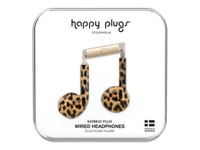 HAPPY PLUGS EARBUD PLUS LEOPARD