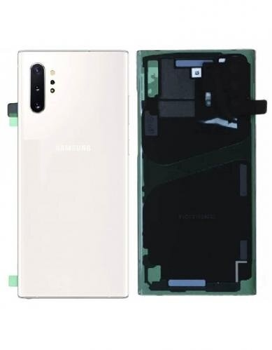 Samsung Galaxy Note 10 Plus Baksida/batterilucka – Original – Vit